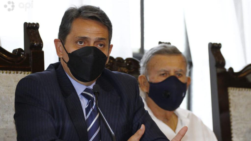 Víctor Aráus dejó la coordinación de seguridad del Municipio de Guayaquil