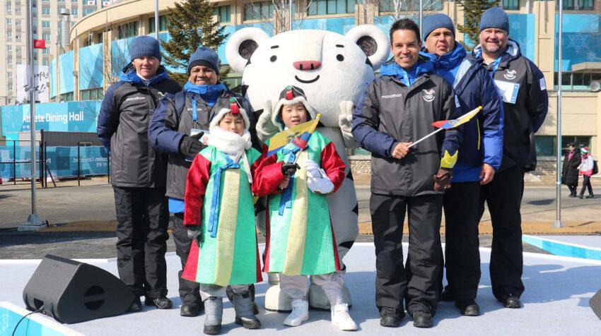 Klaus Jungbluth, durante los Juegos de Invierno de Pyeongchang, en febrero de 2018.