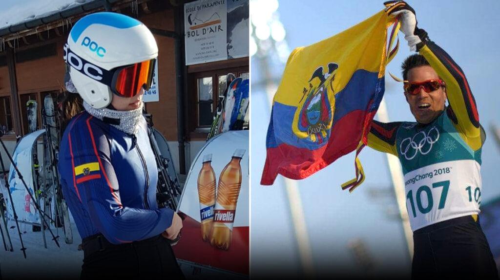 Dos deportistas de Ecuador buscan su cupo para los Juegos de Invierno 2022