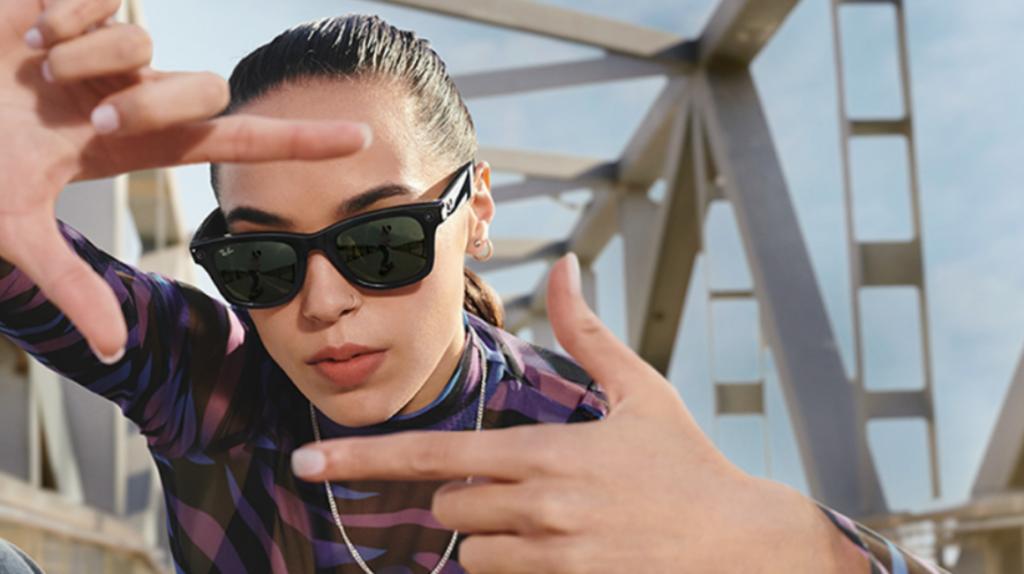Facebook y Ray-Ban presentan sus primeras gafas inteligentes