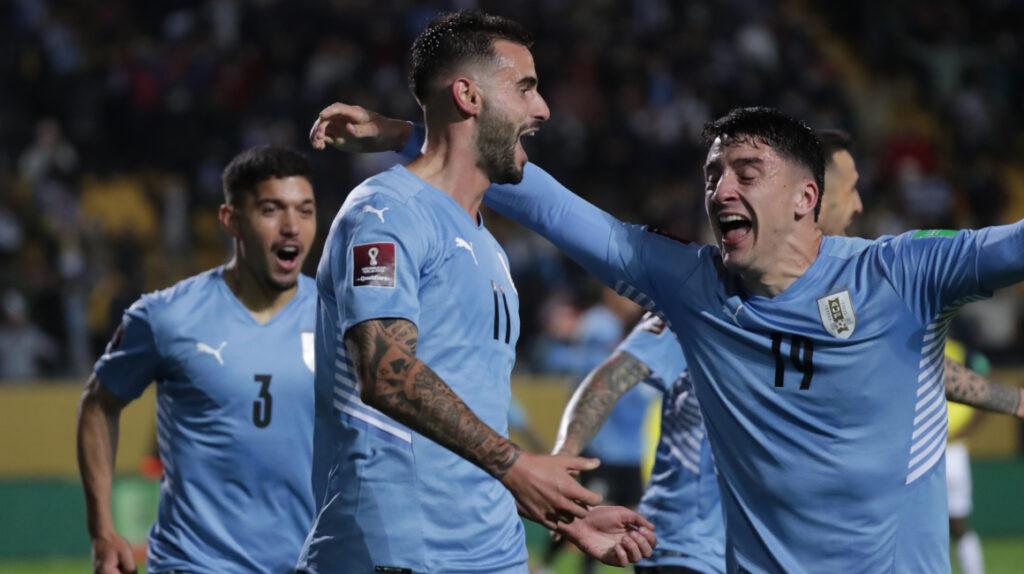 Uruguay le gana a Ecuador con un gol de Pereiro en tiempo adicional