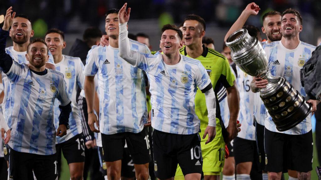 Argentina se enfrentará a Italia en un duelo  de campeones continentales