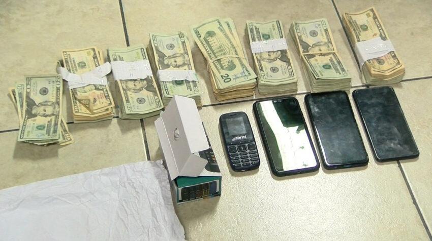 Washington Nazareno fue detenido por la Policía en Latacunga, con USD 13.050 que no justificó.