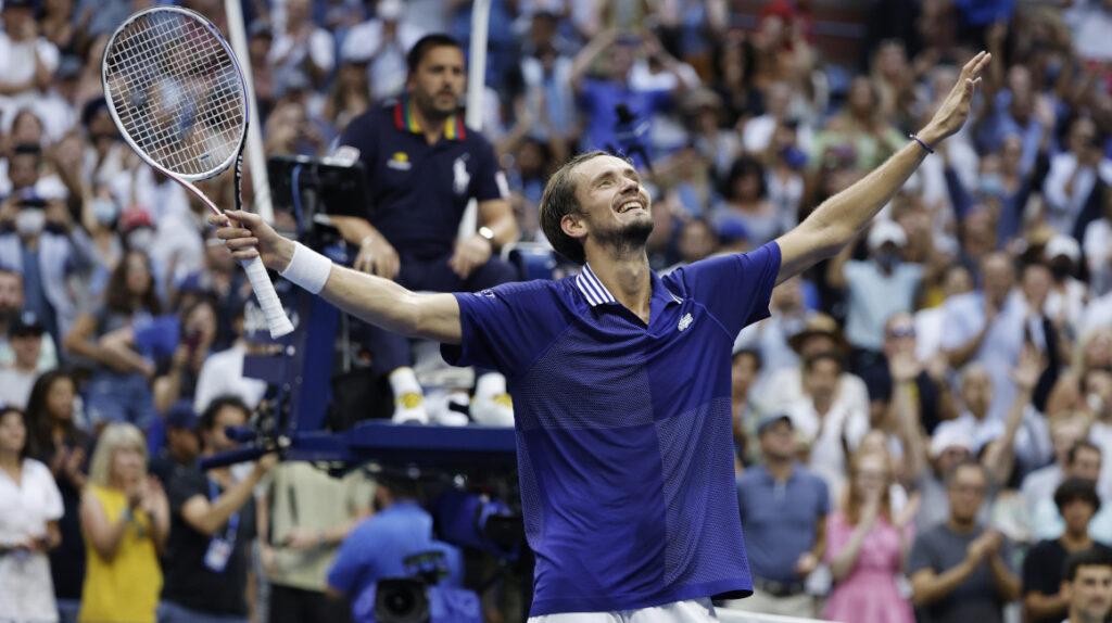 Daniil Medvedev hace un partido perfecto y es campeón del US Open