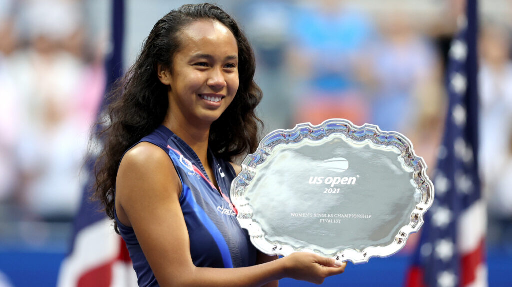 Leylah Fernández sube del puesto 73 al 28 en el ranking de la WTA