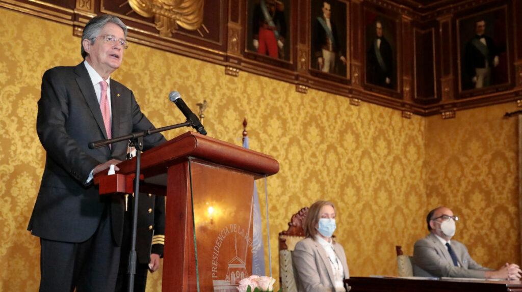 Lasso dice que Ecuador ha perdido USD 70.000 millones por corrupción