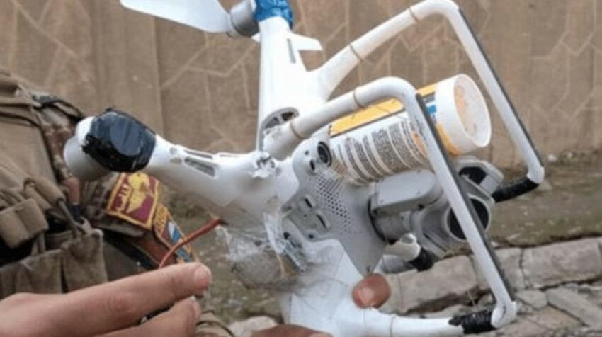 Drones como este habrían sido usados en el ataque con explosivos en la Penitenciaría del Litoral, la madrugada del 13 de septiembre de 2021.