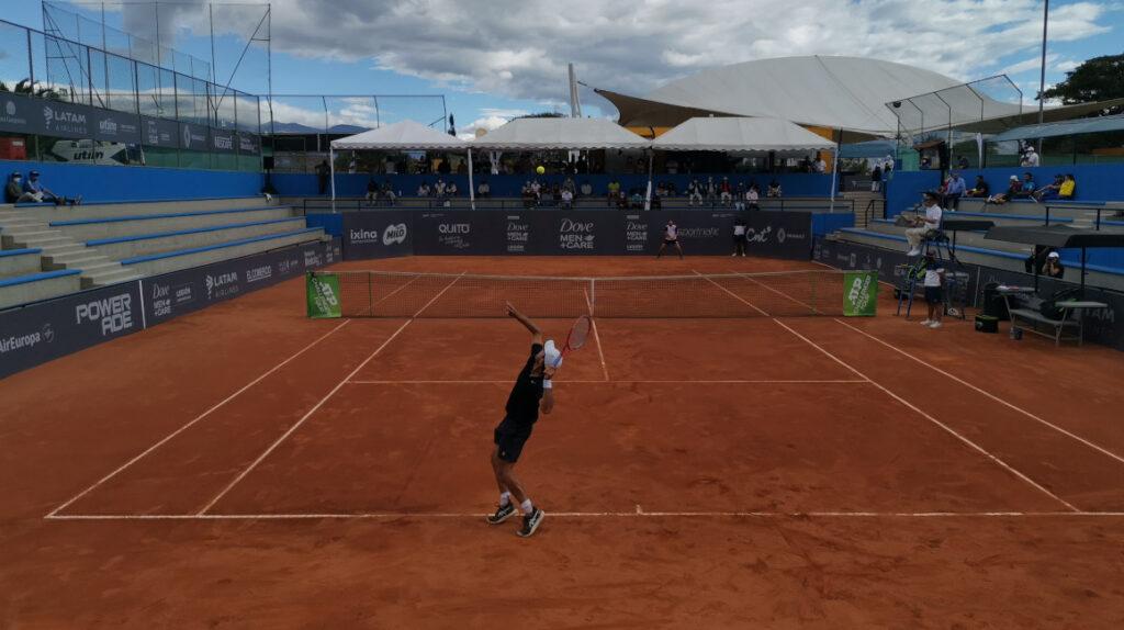 El tenis se reactiva en Quito con público y la presentación de ecuatorianos