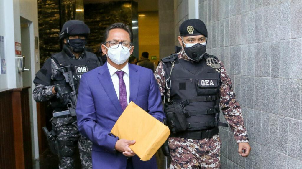 La Asamblea censura a Freddy Carrión y lo destituye de la Defensoría del Pueblo