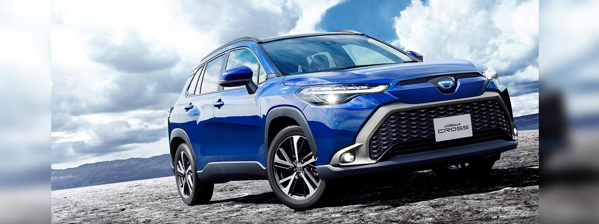 Toyota prepara el camino para el nuevo Corolla Cross