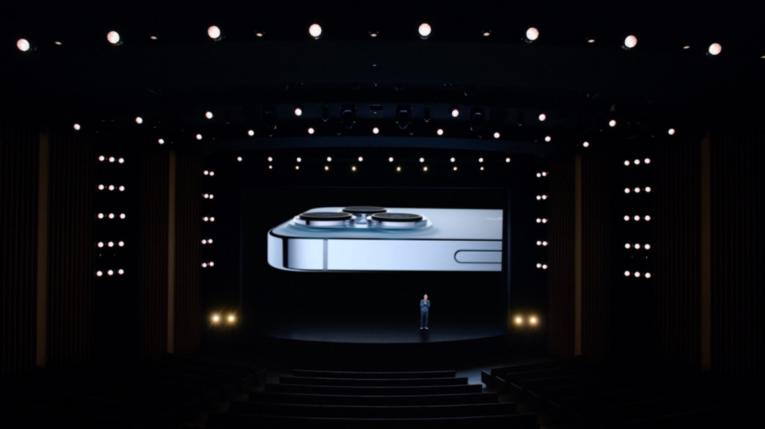 Tim Cook durante el evento Apple, el 14 de septiembre de 2021.