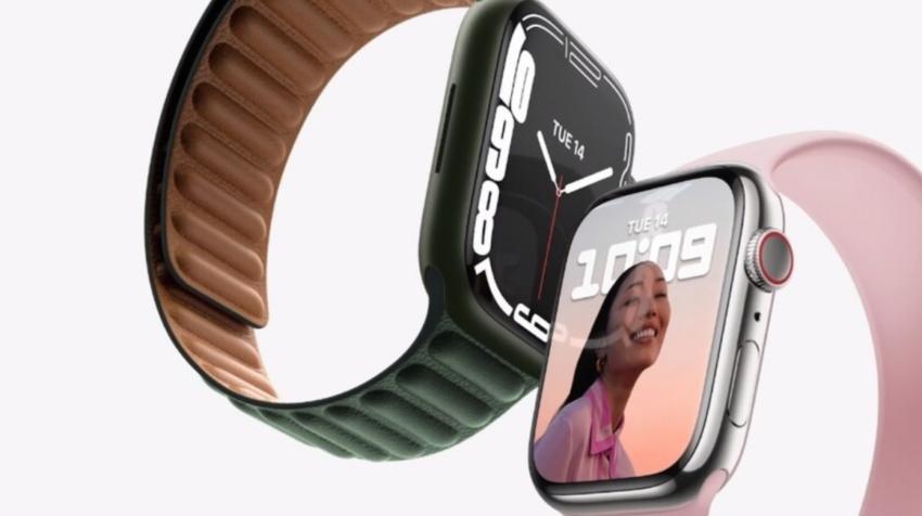 Apple Watch Series 7 presentado el 14 de septiembre de 2021.