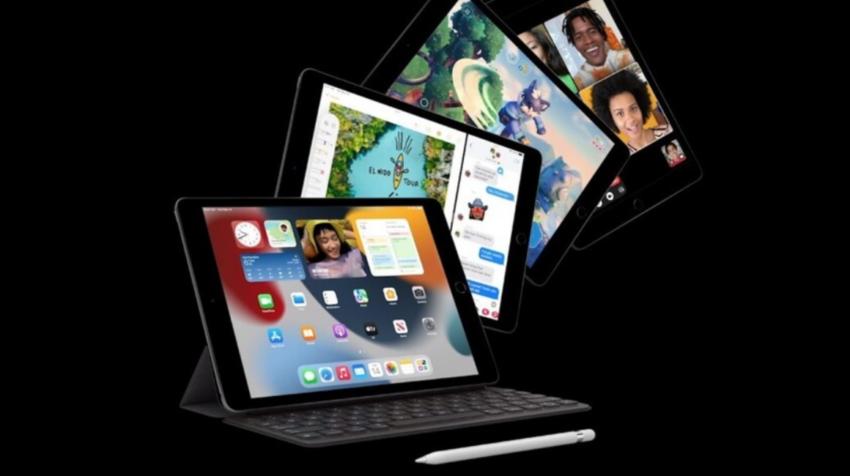 iPad novena generación presentado el 14 de septiembre de 2021.