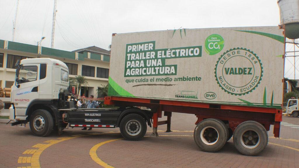 Ingenio apuesta por camiones eléctricos para frenar gasto en combustible