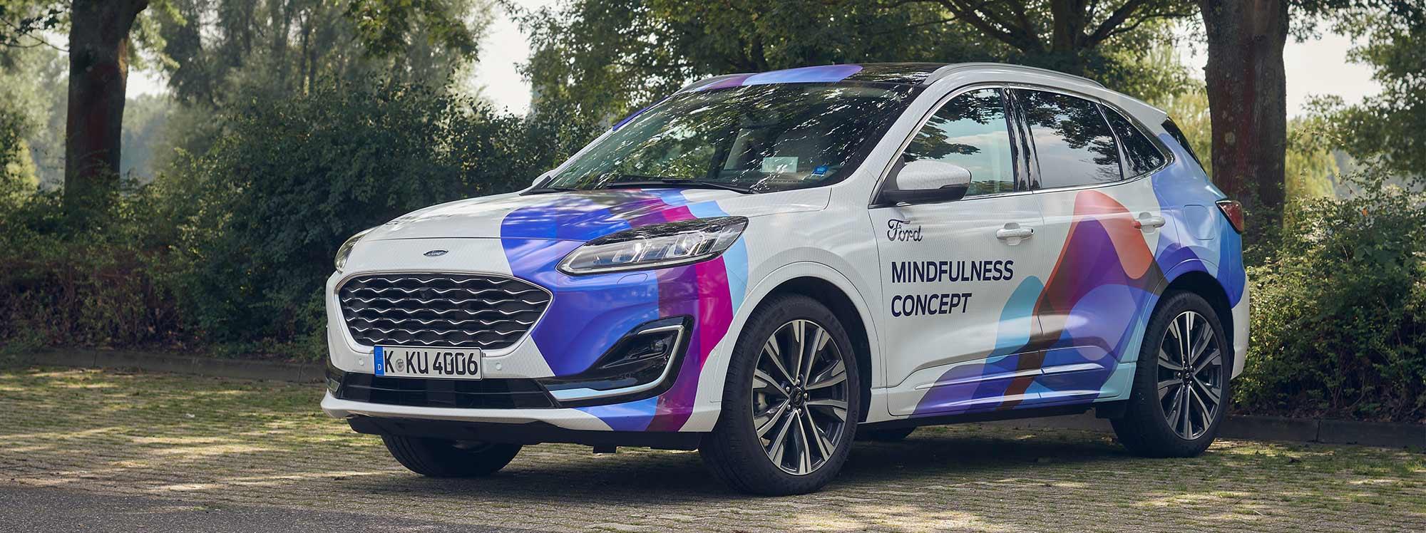 Ford Concept Car Mindfulness, el vehículo que combate el estrés