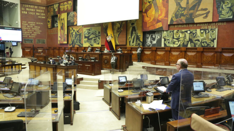 El pleno de la Asamblea Nacional, el 16 de septiembre de 2021.