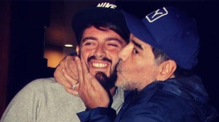Hijos de Maradona utilizan su cuenta de Instagram para homenajearlo