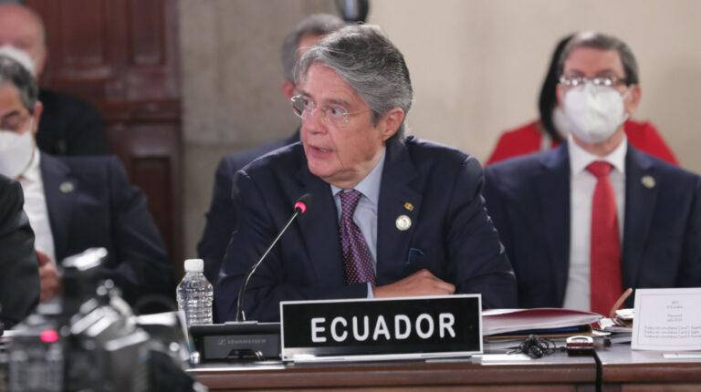 Lasso llama a Latinoamérica a crear una integración económica antes que política