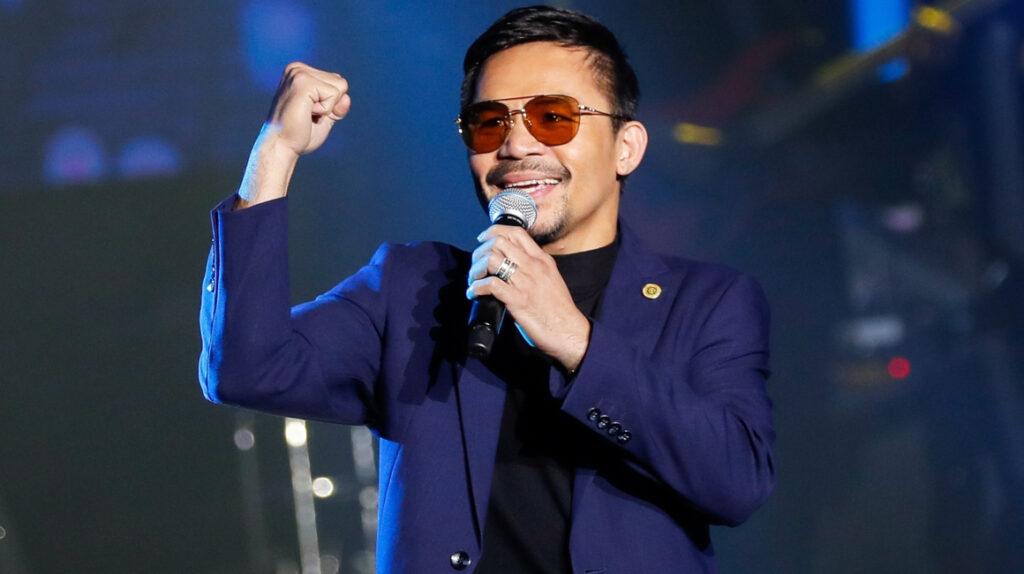 Manny Pacquiao será candidato a la presidencia de Filipinas en 2022