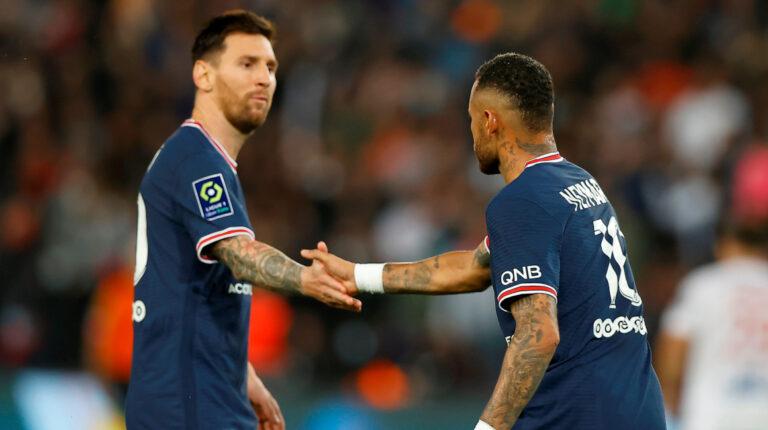 PSG derrota al Lyon, Messi sigue sin marcar y termina en el banco