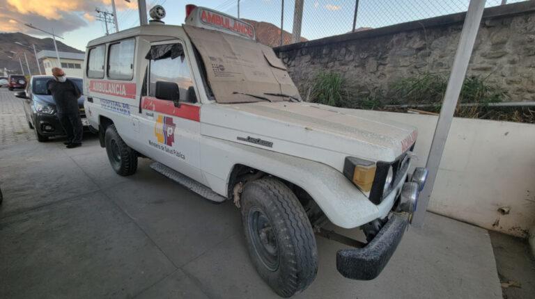 Hospitales públicos tienen ambulancias que fueron fabricadas hace 35 años