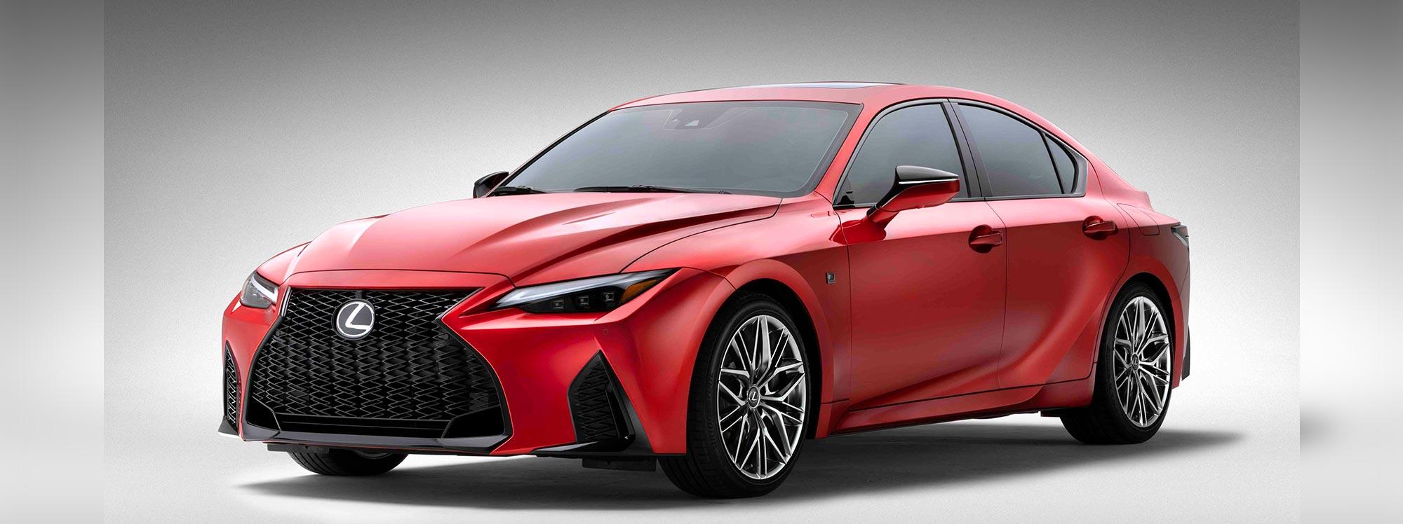 El primer Lexus de la gama F Sport