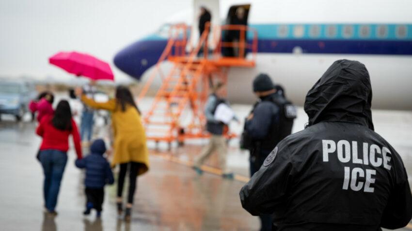 Vuelo de repatriación que sale desde Estados Unidos el 16 de enero de 2020.