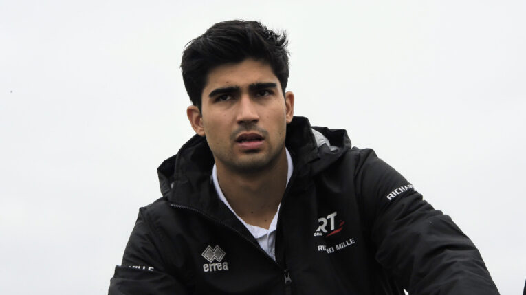 Juan Manuel Correa, en el circuito de Zandvoort, previo al Gran Premio de Países Bajos, el 3 de septiembre de 2021.