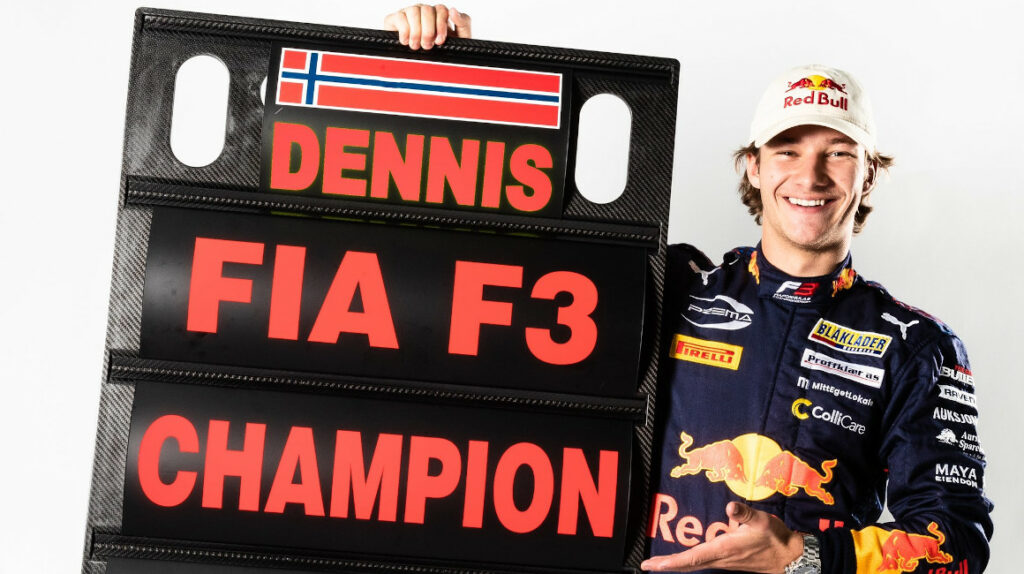 Dennis Hauger se consagra campeón de la Fórmula 3 en Rusia