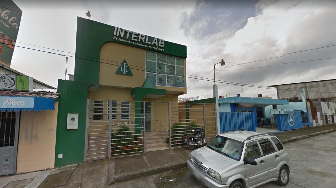 Sucursal de Interlab en Quevedo, provincia de Los Ríos.