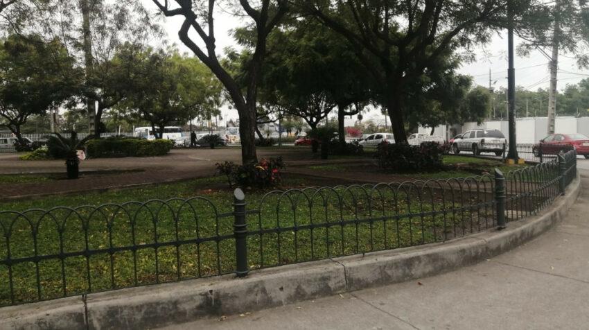 El parque de Portete, en el suroeste de Guayaquil.