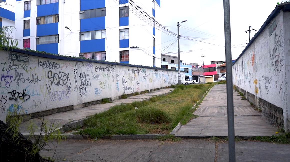 Grafitis en Quito