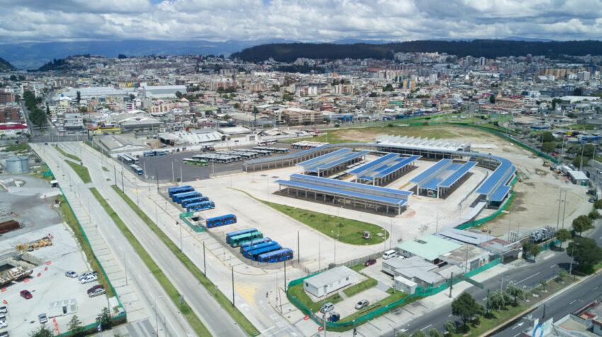 Vista del sector El Labrador, en el norte de Quito, en abril de 2020.