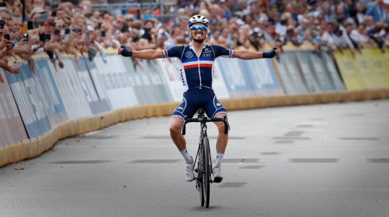 Julian Alaphilippe defiende su corona en el Mundial de Ciclismo
