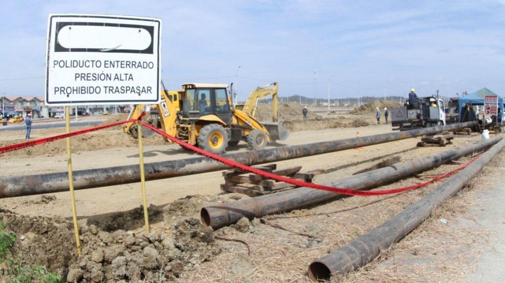 Petroecuador repara fugas en poliducto Santo Domingo – Pascuales