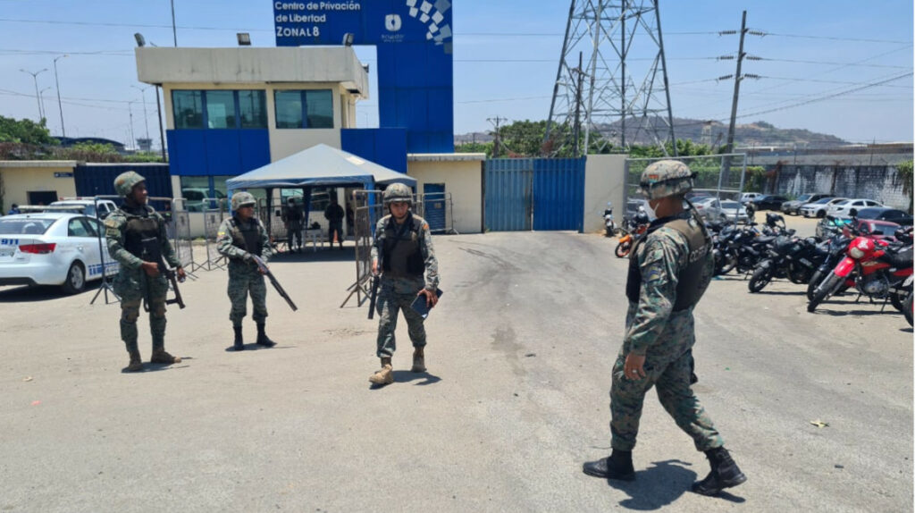 Continúan los enfrentamientos en cárcel regional de Guayaquil