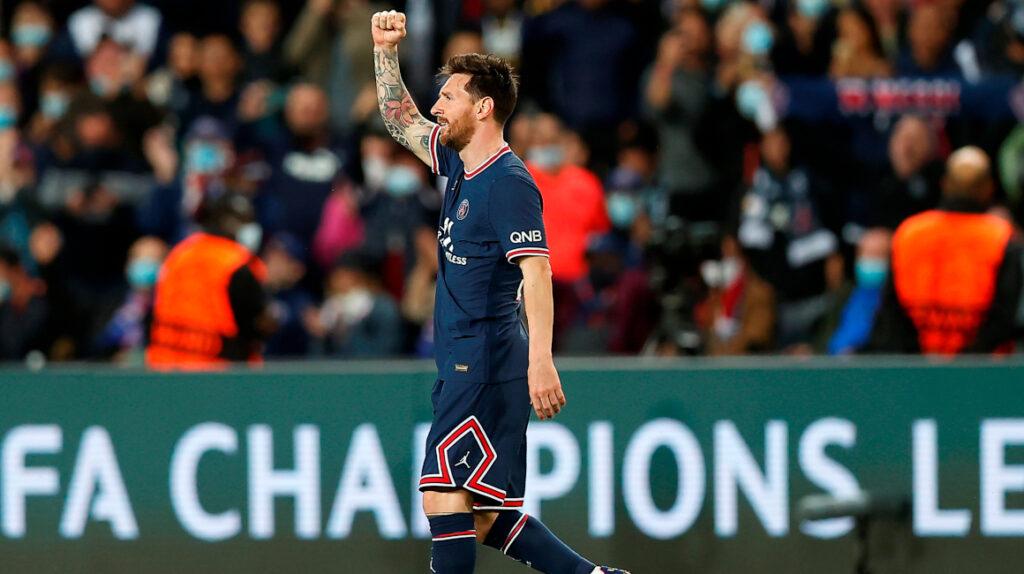 Lionel Messi marca su primer gol con el PSG en la victoria ante el City