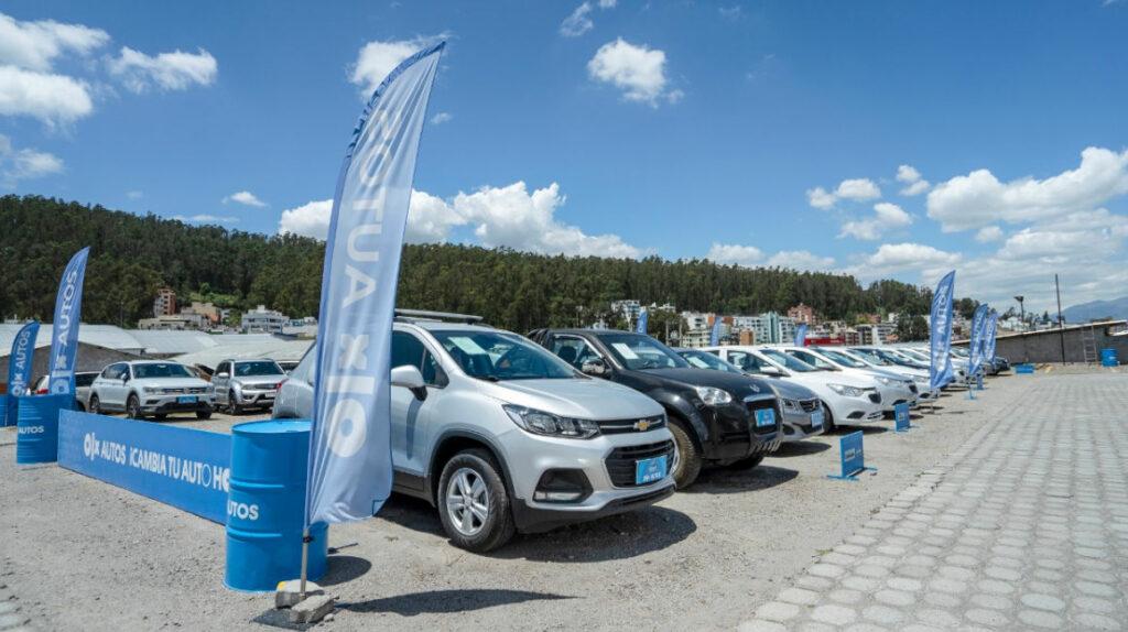 SUV y sedán son los vehículos seminuevos más vendidos en Ecuador