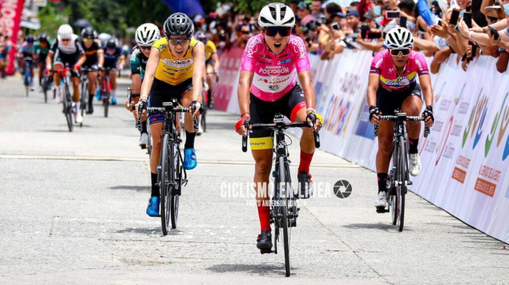 Villalón gana la Etapa 2 de la Vuelta a Colombia y Núñez entra tercera