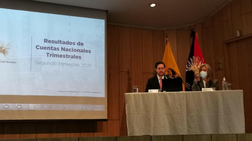 La economía ecuatoriana creció 8,4% en el segundo trimestre de 2021