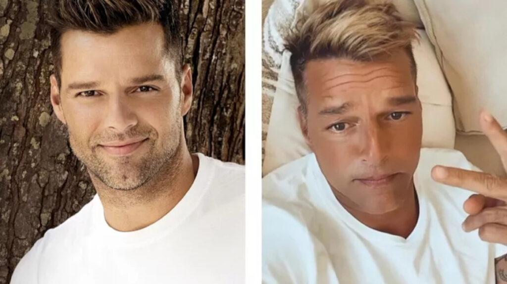 """Las redes no reconocieron a Ricky Martin y él salió a decir: """"Yo no me he hecho nada en la cara"""""""