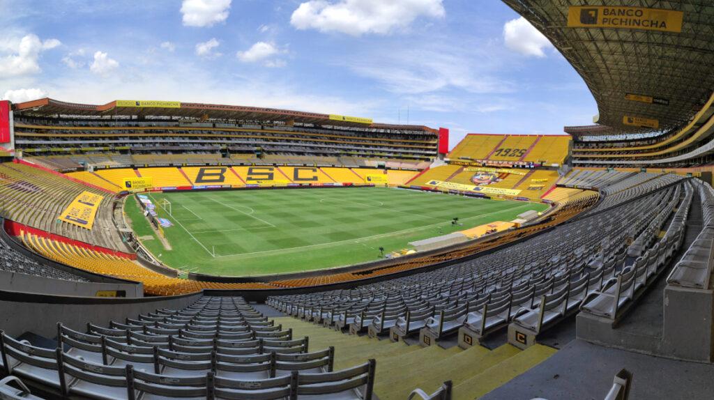 El Estadio Banco Pichincha, Coloso de los grandes eventos
