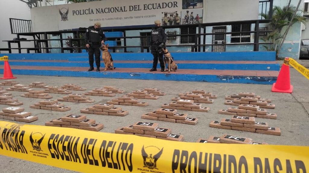 Policía incautó una tonelada de droga que tenía como destino Bulgaria