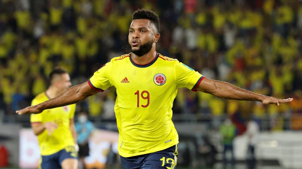 Miguel Ángel Borja es duda para el partido de Colombia ante Uruguay