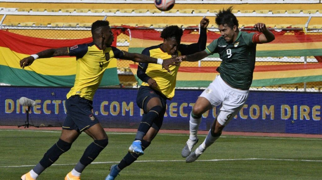 Ecuador acumula 12 partidos sin perder ante Bolivia en Eliminatorias