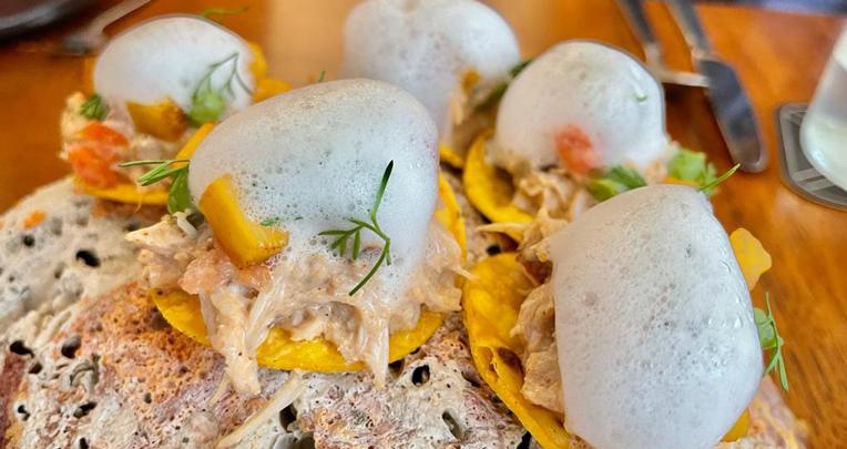 Tacos de pangora - Restaurante 3500