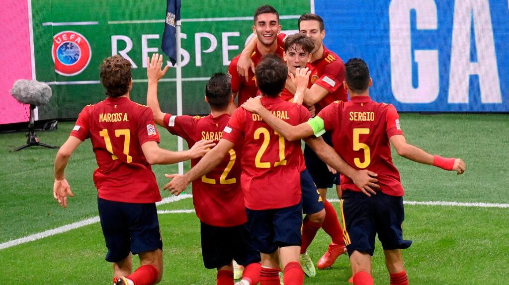 España acaba con el invicto de Italia y pasa a la final de la Nations League