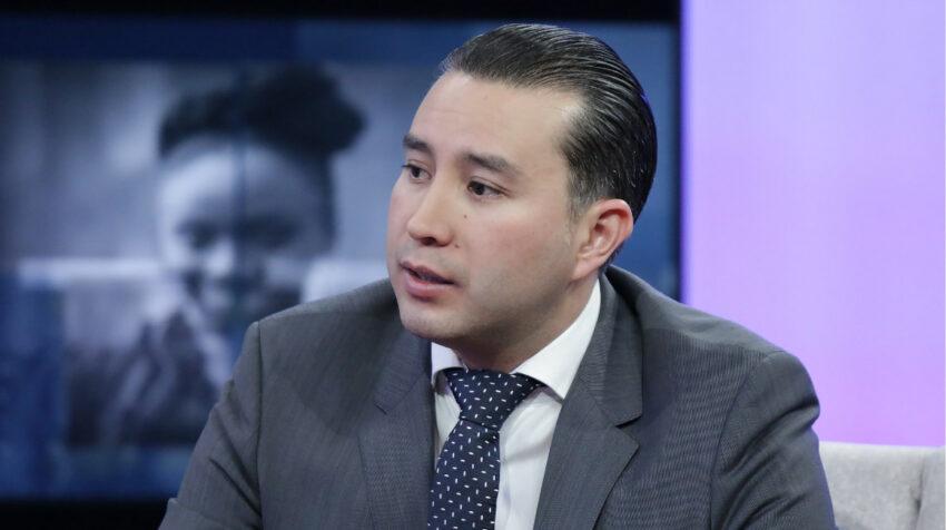 Paúl Hernández, entonces subsecretario de Transporte, en una entrevista en septiembre de 2019.