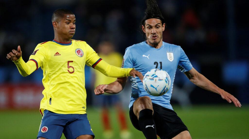 Uruguay y Colombia empatan y el resultado le favorece a Ecuador
