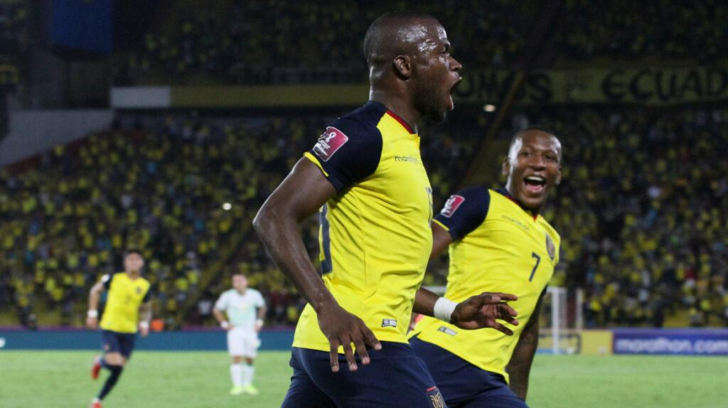 Enner Valencia es el máximo goleador histórico de la Selección ecuatoriana